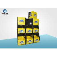 Convenience Store Cardboard Pallet Display Collapsible For Hats Showing Manufactures