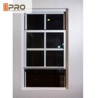 UV Protection Aluminum Sash Windows ISO Certification With Flexibility Frame