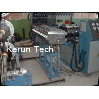 Decorative Plastic Board Production Line / PVC Foam Board Making Machine Twin Screw Manufactures