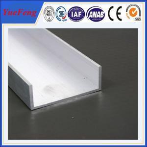 Hot! quality aluminium u profile, powder coating color aluminum extrusion profiles Manufactures
