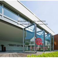 China soundproof double aluminium folding home bi-fold door,Australia certified thermal rating and acoustic sliding door on sale