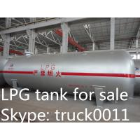 high safety factory direct sale 12tons bulk surface LPG gas storage tank, ASME standard propane gas storage tank Manufactures