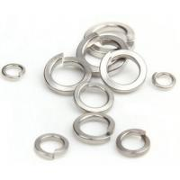 Cheese Head Screw Stainless Steel Spring Lock Washers With Square End DIN7980