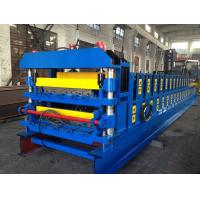 18 Forming Stations Double Layer Roof Tile Roll Forming Machine For Metal Roof Wall Panels Manufactures