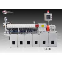 Carbon Black Laboratory Twin Screw Extruder , Masterbatch Lab Scale Extruder Manufactures