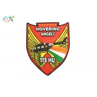 Angels Wings PVC Military Patches , Custom Rubber Logo Patch For Uniform Garments Manufactures