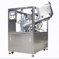 China Fully Automatic Plastic Tube Sealing Machine 25 - 30 Pcs / Min For Beverage on sale