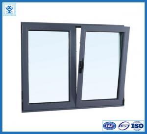 China Aluminum/Aluminium Turn-Turn Window Winth Double Glass on sale
