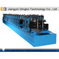 2 Years Warranty Racking Box Beam Cold Forming Machine For Shelf With Cr 12 Quenched Cutter Manufactures