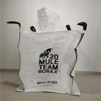 Fibc Pp Jumbo Bulk Bags Closed Bottom For Chemicals / Minerals 90 X 90 X 110cm Manufactures