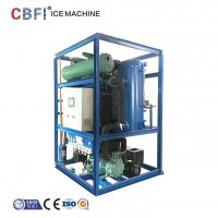 China Edible Grade Ice Tube Machine For Cooling Cola And Orange Juice 5000kg Capacity Per Day on sale