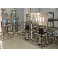 Electronic Industrial Water Purification Equipment 1000LPH For Pure Water Manufactures