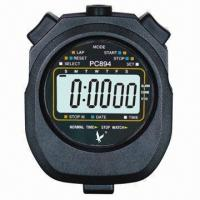 China 2-lap/split professional sports digital waterproof stopwatch/timer for training/fitness on sale