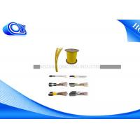 China Indoor /  Outdoor Waterproof Fiber Optic Cable , Compact Loose Tube Fiber Cable on sale