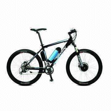 Quality 26-inch Sports E-Bike with 250W 8-Fun Motor, 36V/9Ah Li-ion, 25kph Max Speed, 60km Running Distance for sale