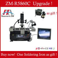 China HOT SALE ,Infrared bga rework station ZM-R5860C with a Camera and a monitor laptop reballing machine on sale