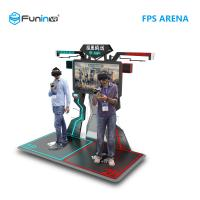 2 Players Interactive Arcade Game Machine FPS Arena 9D Virtual Reality Shooting Games Manufactures
