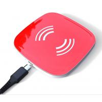 Quick Portable Wireless Phone Charger Pad Ultra Slim QC3.0 For IPhone X / 8 Manufactures