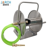 China Heavy Duty Garden Ground Stainless Steel Retractable Hose Reel on sale