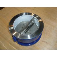 ISO&CE certificate OEM Dual Wafer Check valve 150# for Waterworks Purpose Manufactures