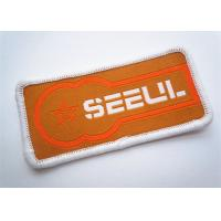 Eco Friendly Custom Clothing Patches No Slip Garment Accessories Manufactures