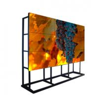 Full HD 1080p Samsung LCD Video Wall Monitor 6.7mm Bezel For Live OLED TV Station Manufactures