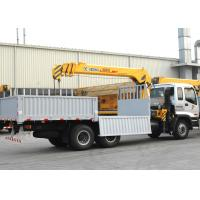 Durable Cargo Mobile Truck Loader Crane With 55 L/min Max Oil Flow Manufactures