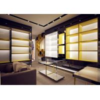 Retail Store Fixtures / Handbag Display Cabinet With Professional 3D Design Manufactures