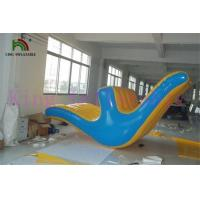 China Funny Outdoor Commercial Blow Water Seesaw PVC Tarpaulin Toy For Water Park on sale