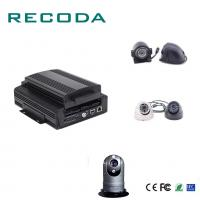 1080P Resolution Car Dvr Video Recorder HDD/SD 4G/WIFI/GPS G- Sensor 4CH AHD Input Manufactures
