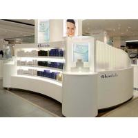 Contemporary Beautiful Cosmetic Display Case Custom Made Logo And Size Manufactures