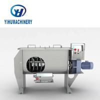 Buy cheap YIHU Horizontal Ribbon Mixer , Medical Dry Powder Mixing Equipment from wholesalers