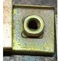 Buy cheap Stainless Steel Square Weld Nut DIN928 Bolt M6x30 Size For Machinery Industry from wholesalers