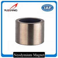 Bonded Neodymium Rare Earth Magnets , Custom Size Magnets 0.35mm Wall Thickness Manufactures