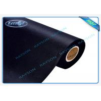UK Standard Bs5852 Black Flame Retardant Nonwovens For Sofa / Mattress Manufactures