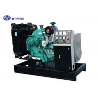 25kVA 20kW Cummins Diesel Genset for Marine , Open Frame Mounted Manufactures