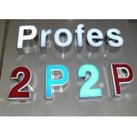 China Outdoor 3D Illuminated LED Channel Letters And Numbers Sign With Energy Saving Light on sale