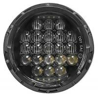 7 Inch 5D 105 W White LED Round Shaped Headlight Jeep LED Daytime Running Lights Manufactures