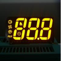 Quality High Brightness Multi color 7 Segment Display Triple Digit for Refrigerator for sale