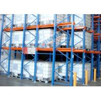 Roll Forming Food Companies Drive In Storage Warehouse Racking Shelves Manufactures