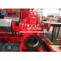 Red Color Diesel Engine Fire Pump / Fire Fighting Pumps 1500gpm @ 125-135PSI Manufactures