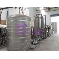 RO Drinking Water Treatment System Stainless Steel 3000L Per Hour Manufactures
