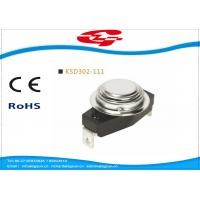 KSD302-111 Temperature Switch Thermostat , Bimetal Disc Thermostat Automatic Reset Manufactures