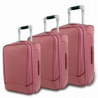 China Softside Luggage Set with Trolley and Skate Wheels, Made of 600D Polyester, Measures 20/24/28 Inches on sale