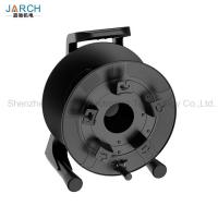 Unbreakable Retractable Electric Cord Reel Robust PC Material With Integrated Handle Manufactures