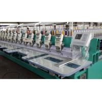 Electronic Flat Embroidery Machine / Thailand Lace Embroidery Machine Multipurpose