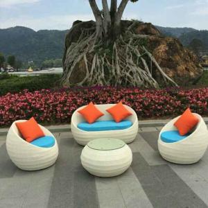 China made Outdoor indoor garden furnitures/rattan chair sets/rattan sofa sets Manufactures