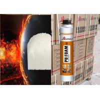 China Fire Retardant pu foam fireproof B2 rating Polyurethane foam for door and window frames 750ml 500ml 300ml on sale