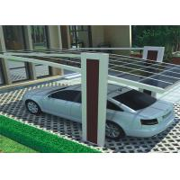 Waterproof Design Solar Car Parking Shed High Snow Load And Wind Load Carport Manufactures
