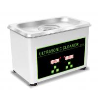 China 0.8L Tank Portable Ultrasonic Cleaning Machine For Jewellery / Watch / Denture on sale